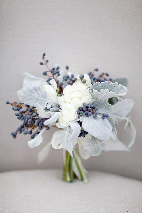 Brides Wedding Flower Trend We Love Privet Berries In Bouquets