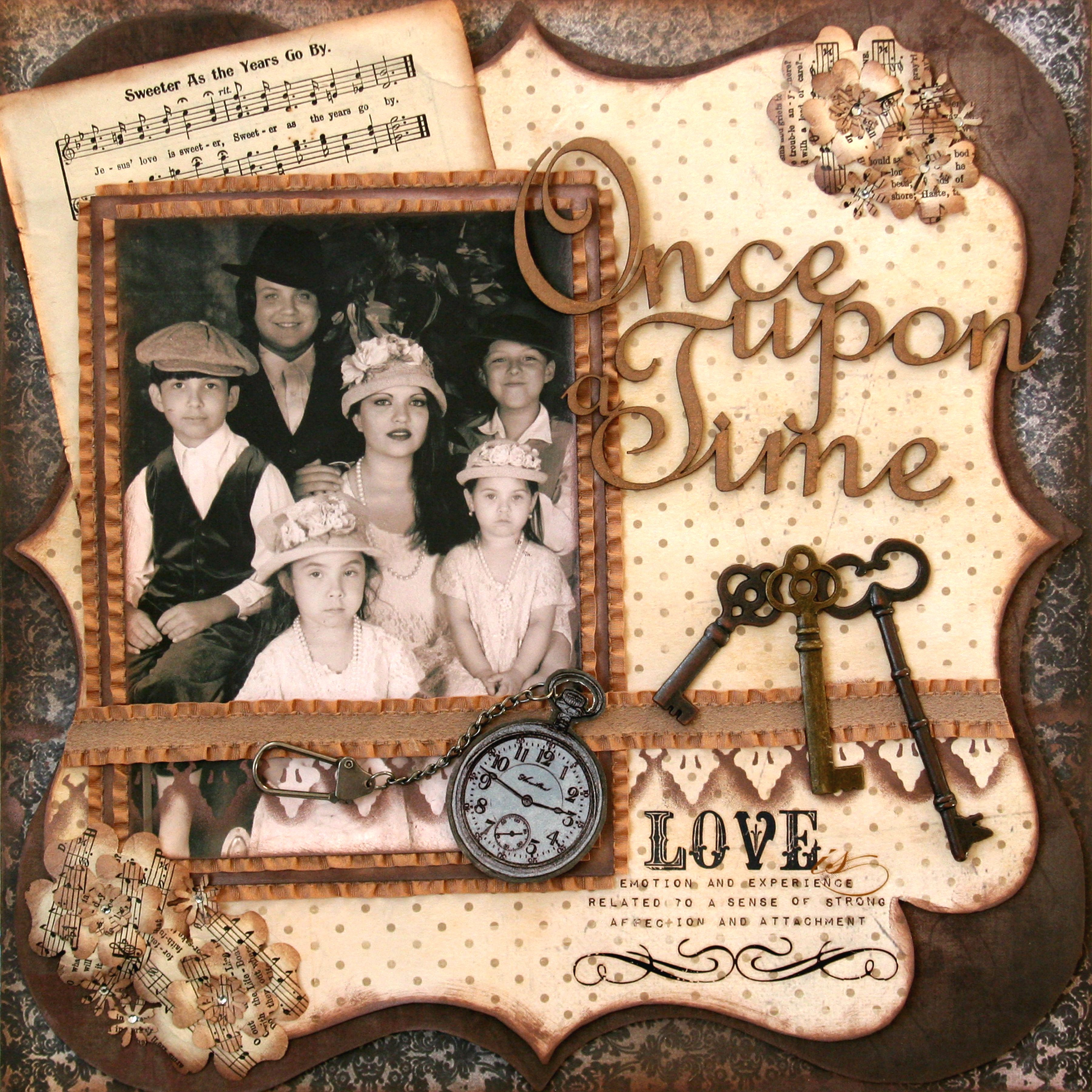 Once Upon A Time Tcr 84 Scrapbook Scrapbook Layouts