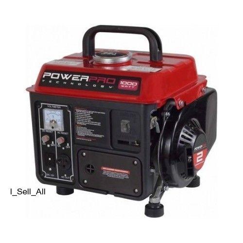 small quiet electric generators