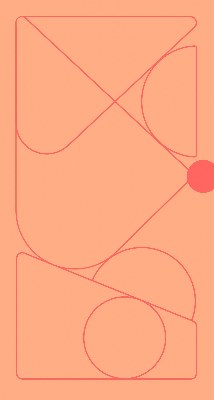 Pixel 4A Pink Grapefruit wallpaper