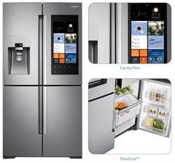 The Flexzone Flexible Bottom Right Door Changes To A Fridge Or