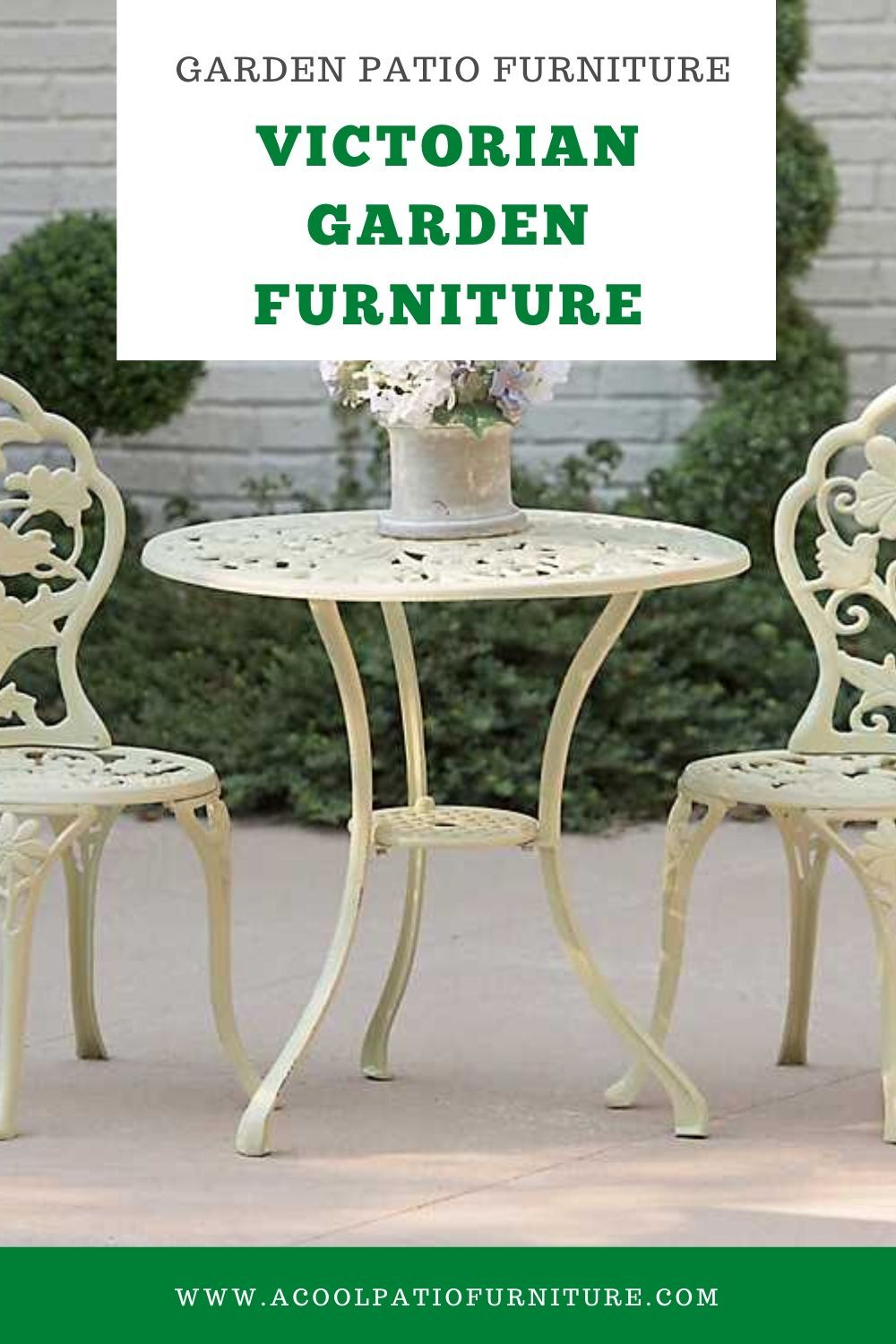 Victorian Garden Furniture That is as a result of the