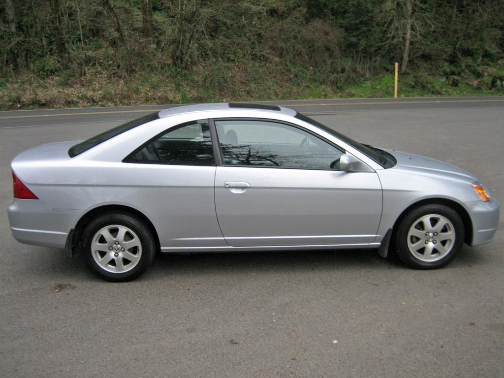 2002 Honda Civic Coupe Picture, Exterior