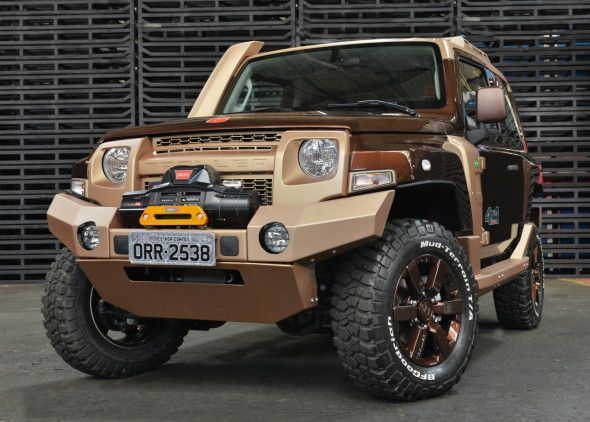 The Cost Of New 2017 Ford Troller T4 Will Be Around 46 000 Dollars
