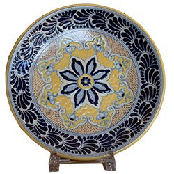 This is a gorgeous large platter from Uriarte! Use it for food or ...