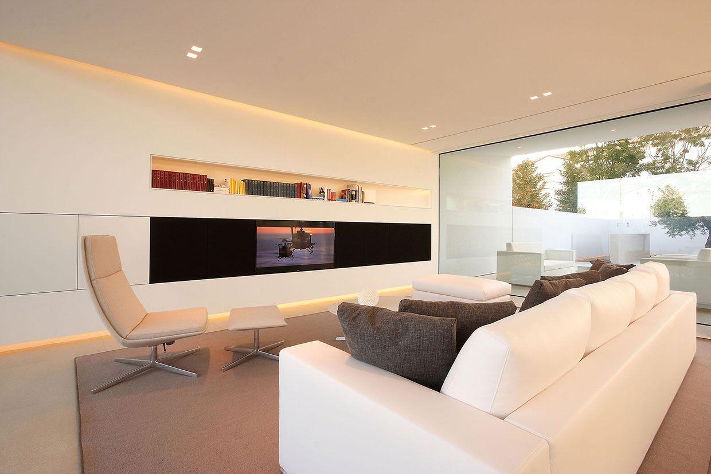 Jesolo lido pool villa by jm architecture living