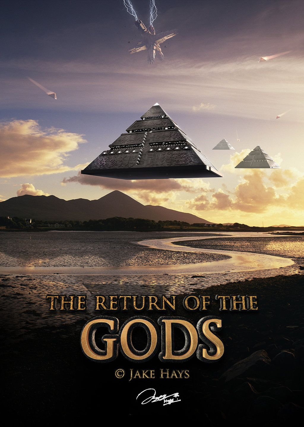 Some dope artwork - The Return of the Gods by ZKojek via @deviantART