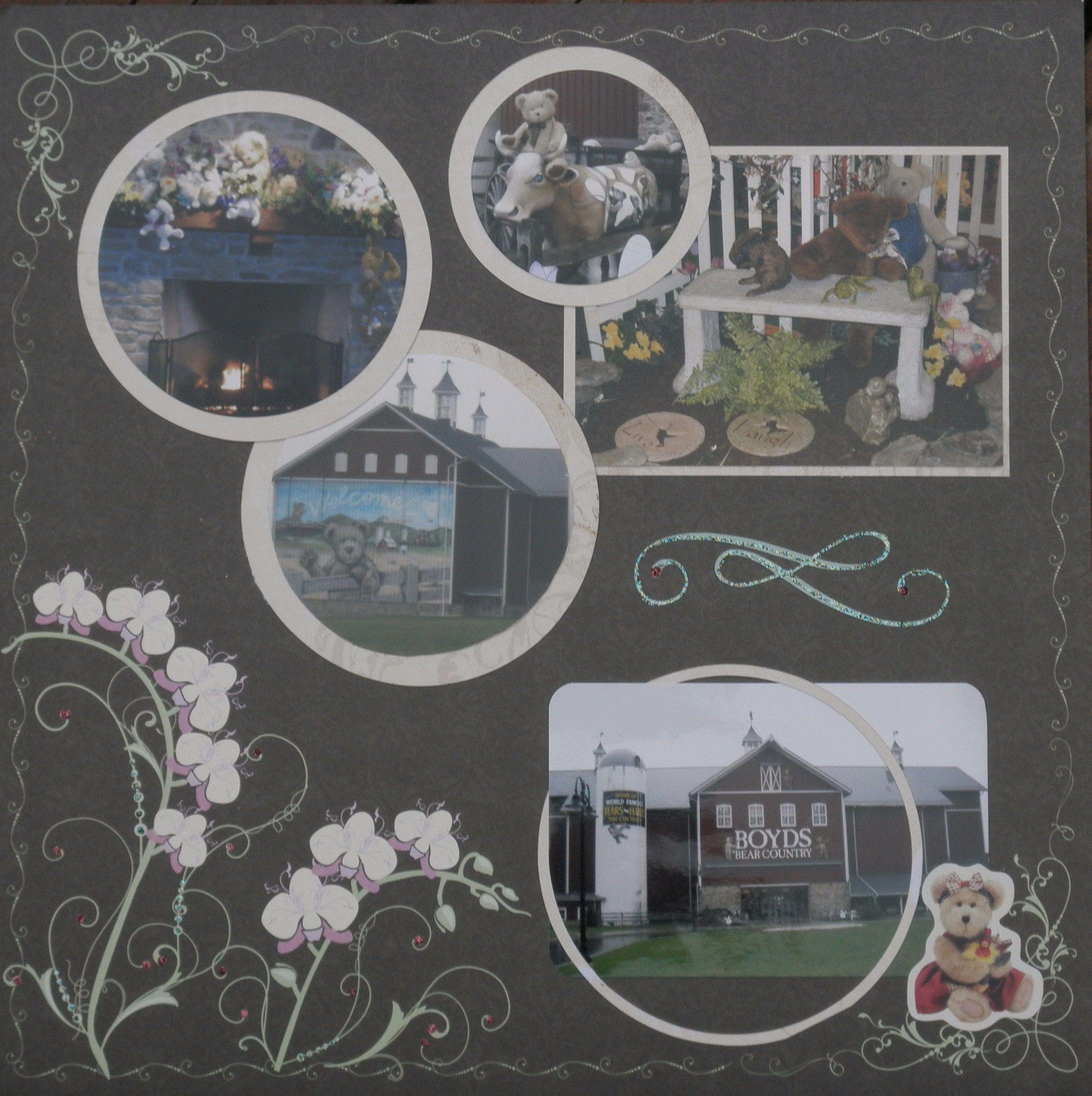 Boyds Bear Factory Layout - Scrapbook.com
