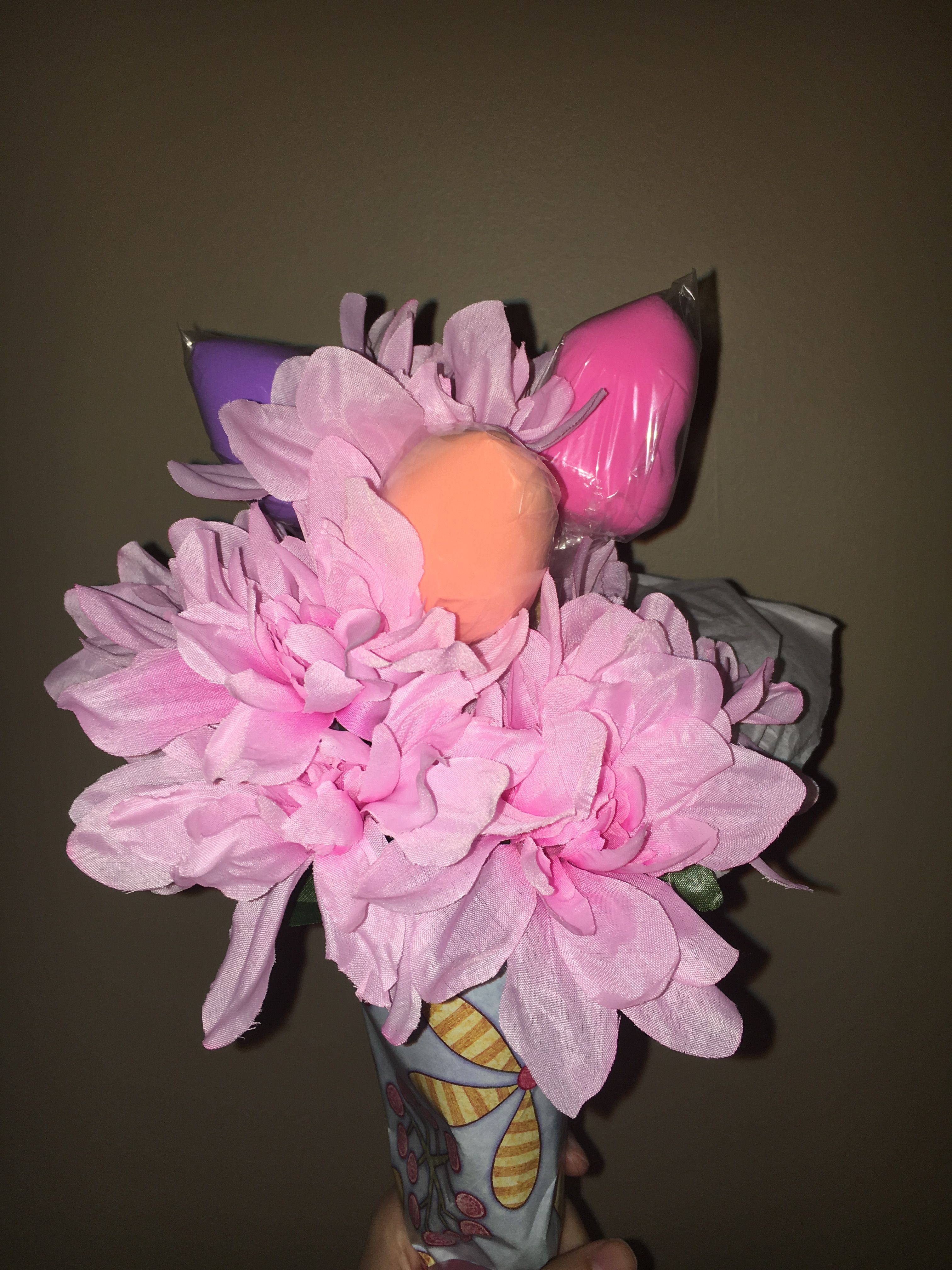 A beauty blender bouquet is the perfect gift for any girl my mom