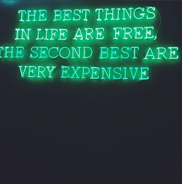 The best things   neon