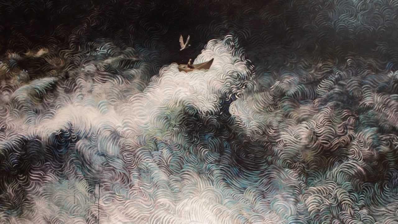 Samuli Heimonen Tulvan jälkeen, maalauksia - Salon Taidemuseo Finland
