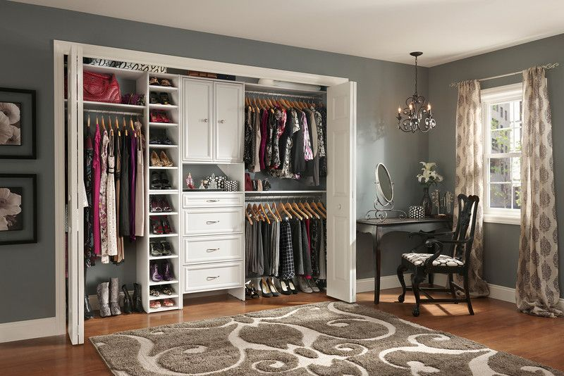 Closet Systems Home Depot | Reach In Closet With ClosetMaid Selectives, The  Newly Revamped