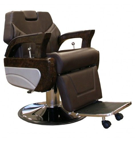 Presidential Barber Chair in Mocha modern Barber Chairs All