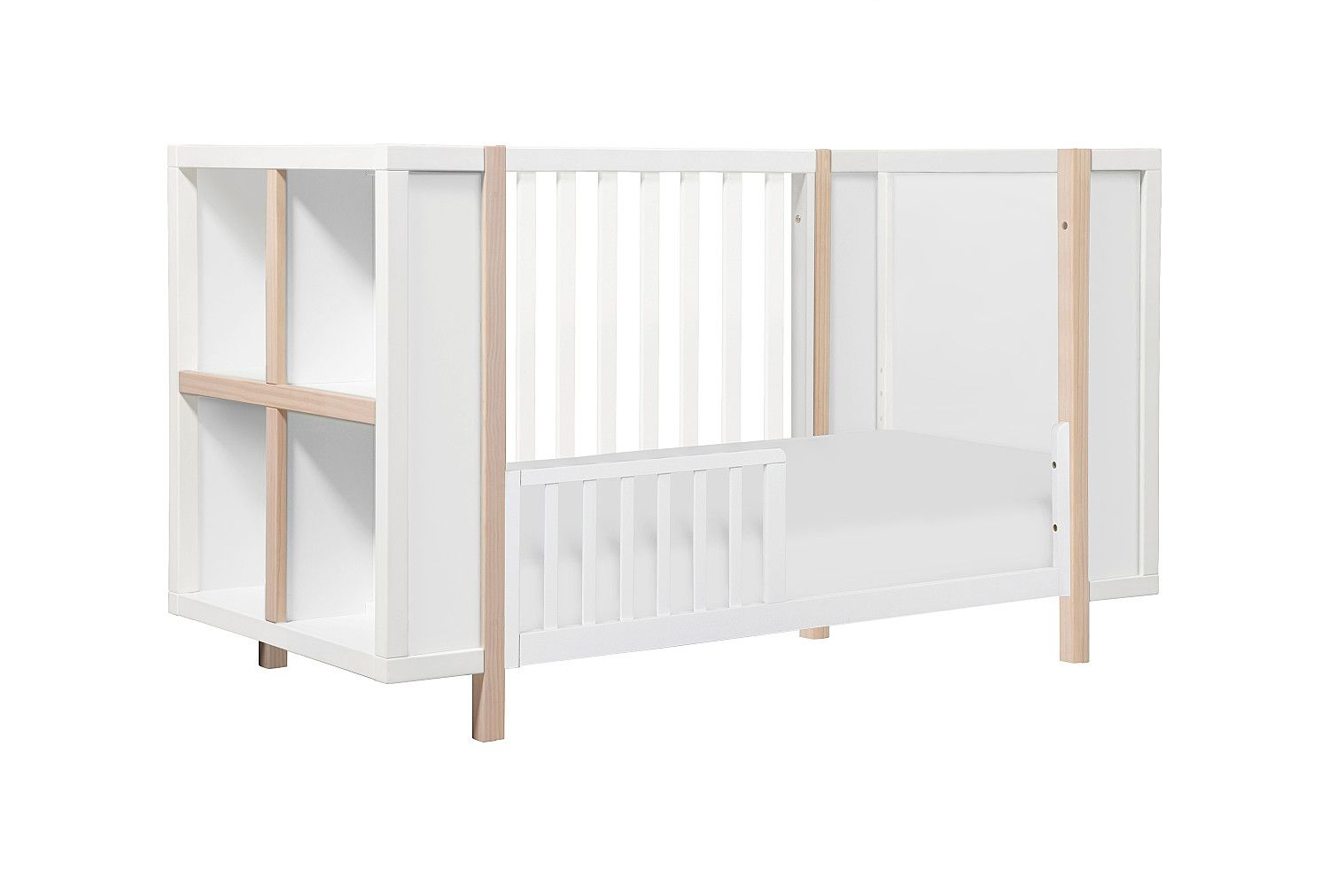 kit convertible brook spindles rail toddler with natural highland baby davinci combo conversion bed in chestnut cribs crib