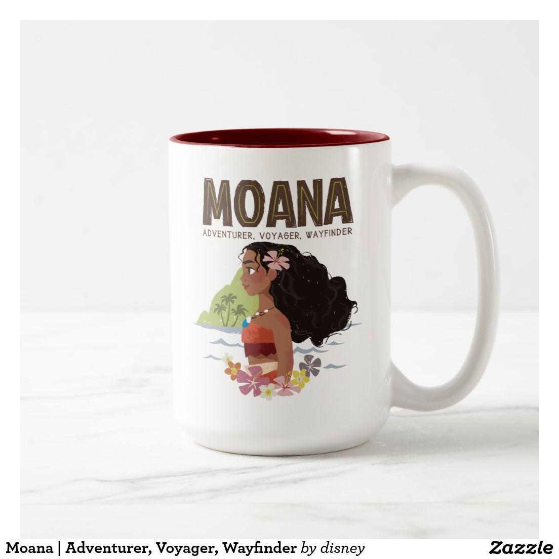 Moana adventurer voyager wayfinder twotone coffee mug