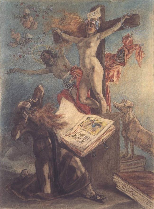 Sammlung religiöser erotischer Bilder