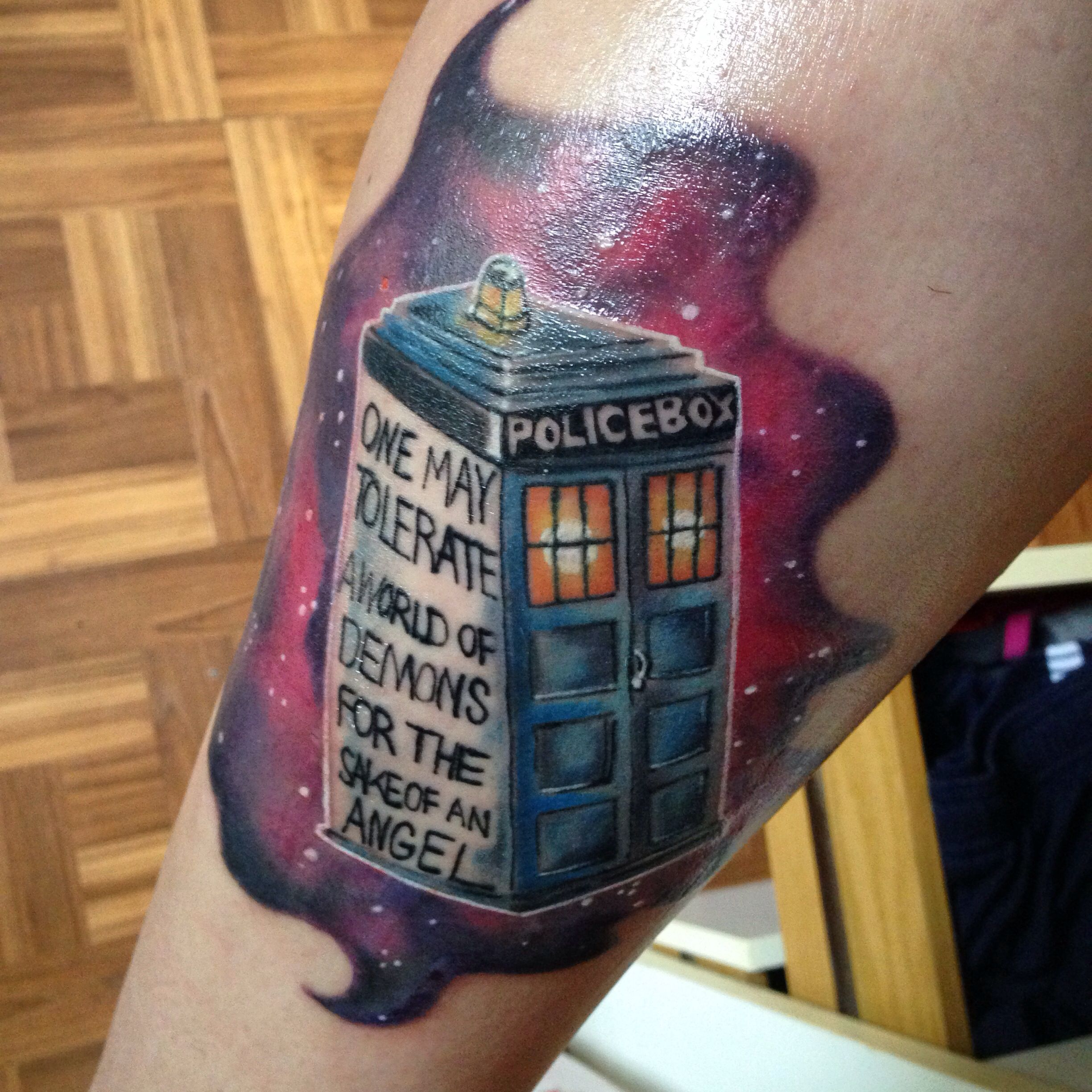 doctor who tattoo