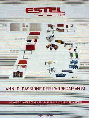 75 años de Estel. Grupo Estel nace en el 1937 en Thiene provincia de Vicenza al norte de Italia. La empresa, fundada por el Cavalliere Alberto Stella, está ya en manos de la tercera generación. 75 años de pasión por los muebles que son ahora un grupo multi marca de importantes dimensiones. Habiendo comenzado haciendo armarios, aún una parte importante de la facturación anual, estel actualmente está conformado por varias empresas.  http://www.podiomx.com/2012/04/75-anos-de-estel.html