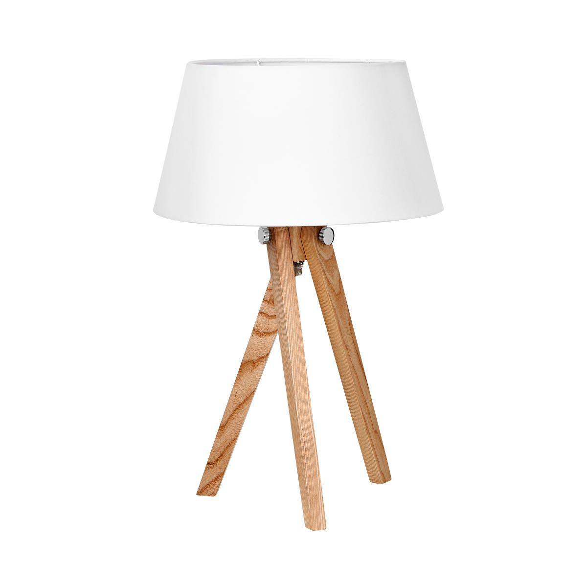 Woodpecker Tischleuchte Mit Holzfuss Butlers Tischleuchte Lampe Holz