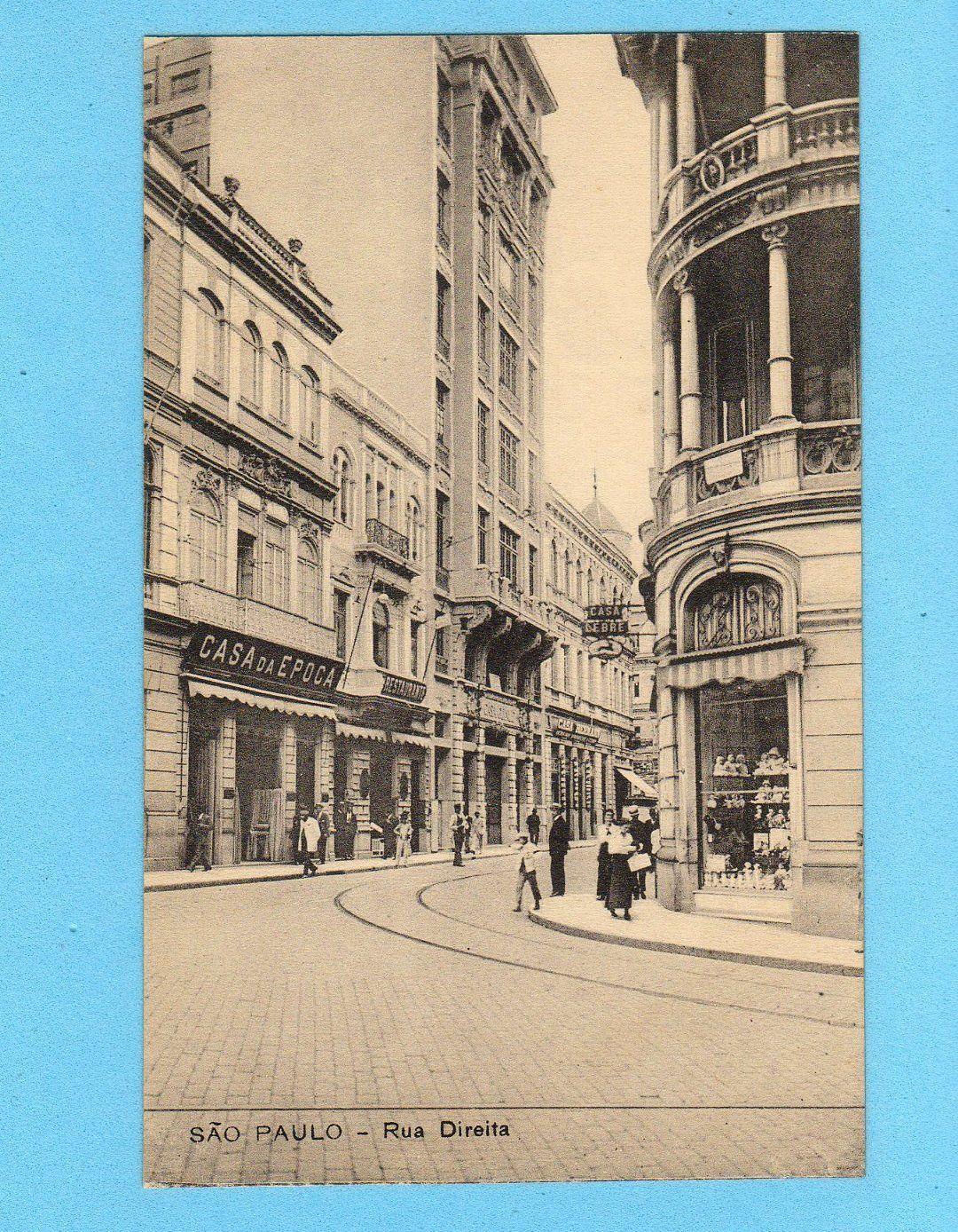 Old Postcard Sao Paulo Dolls Store Casa Da Epoca Brasil Brazil Editor Malusardi | eBay