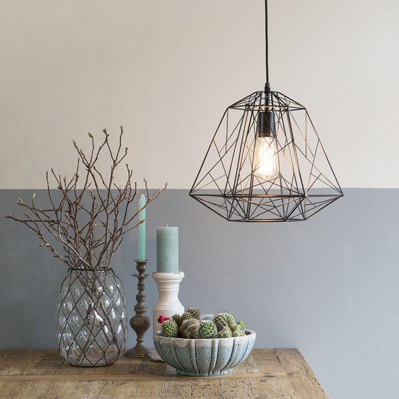 Zwarte Hanglamp Radalf Metaal Industriele Hanglampen Pinterest