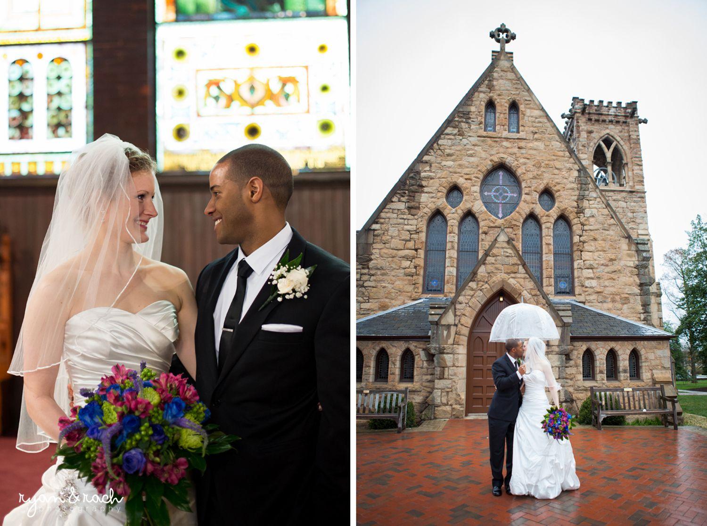 University Of Virginia Chapel Wedding