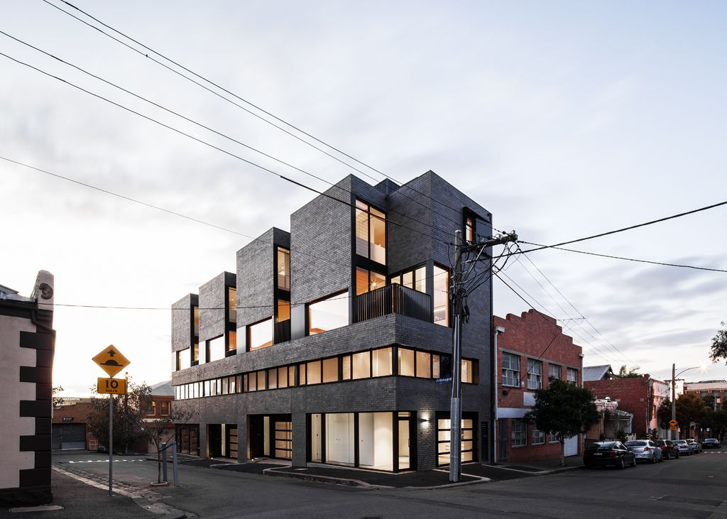 North melbourne townhouses by freadman white architects for Architecture firms melbourne