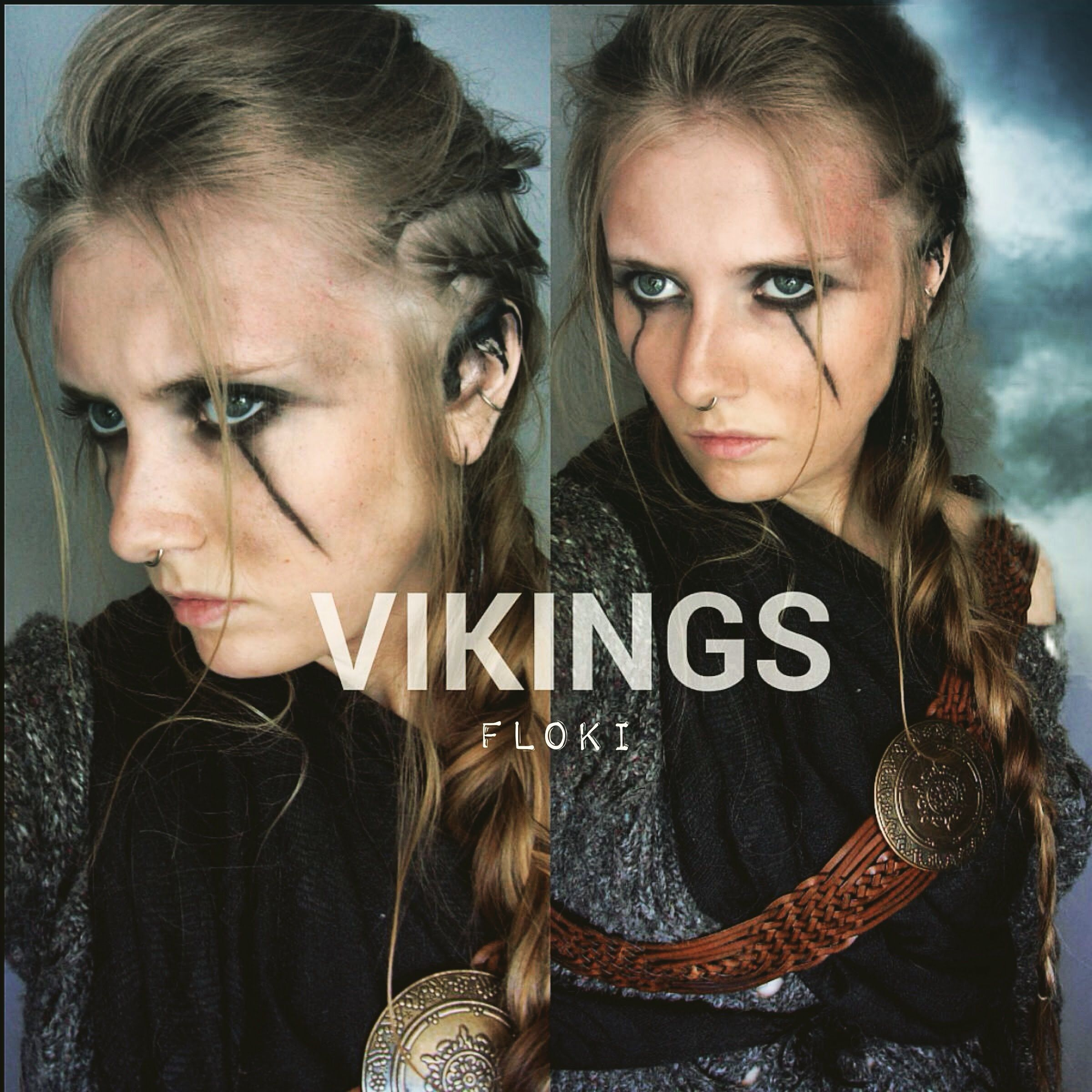 vikings inspired hair makeup floki viking costume pinterest deguisement. Black Bedroom Furniture Sets. Home Design Ideas