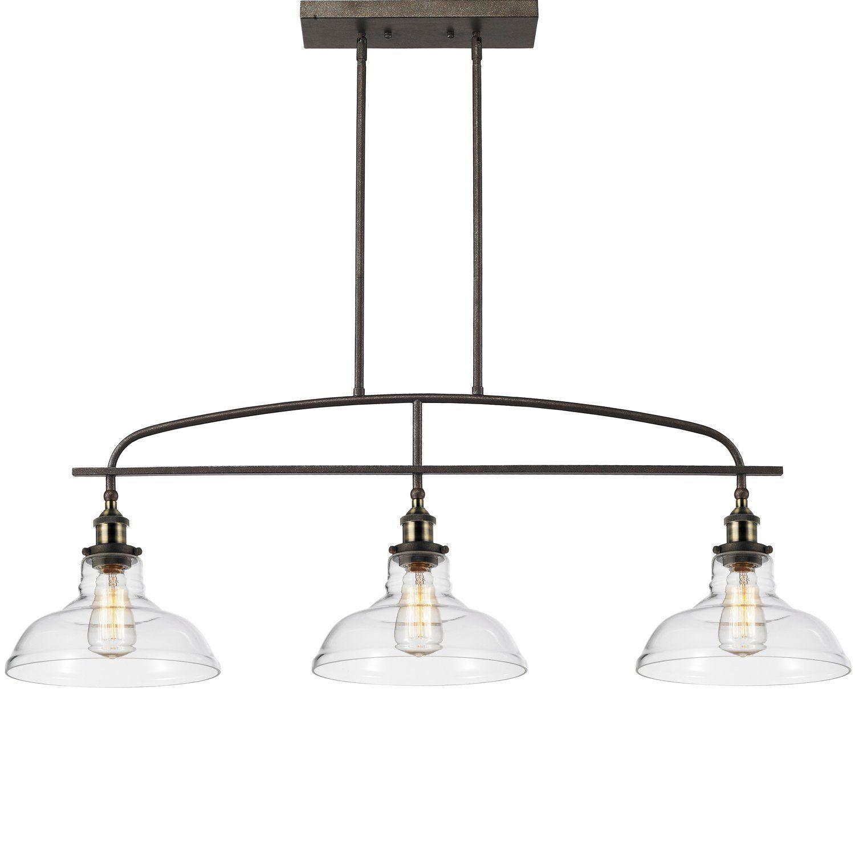 island pendant lighting fixtures. CLAXY Ecopower Kitchen Linear Island Pendant Lighting Vintage Lamp Chandelier -3 Lights - Amazon Fixtures E