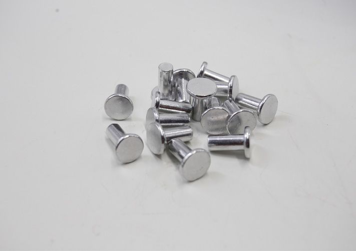 We Are Aluminumrivet Manufacturer Finish Polishing Anodize Nickel Zinc Tin Chrome Silver Plating Etc Rivets Steel Rivet