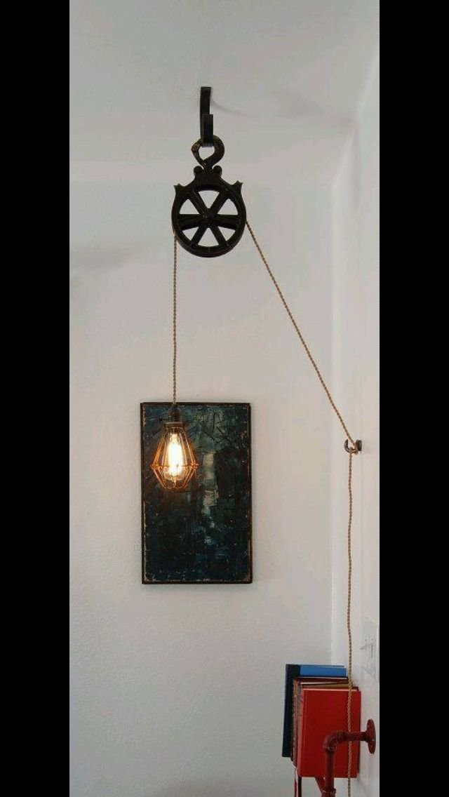 amazing chic industrial light fixtures. Amazing lamp idea  hang old retro industrial Design