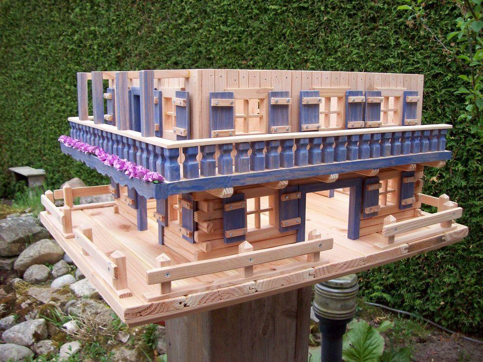 futtervogelhaus  bauanleitung zum selberbauen  12do