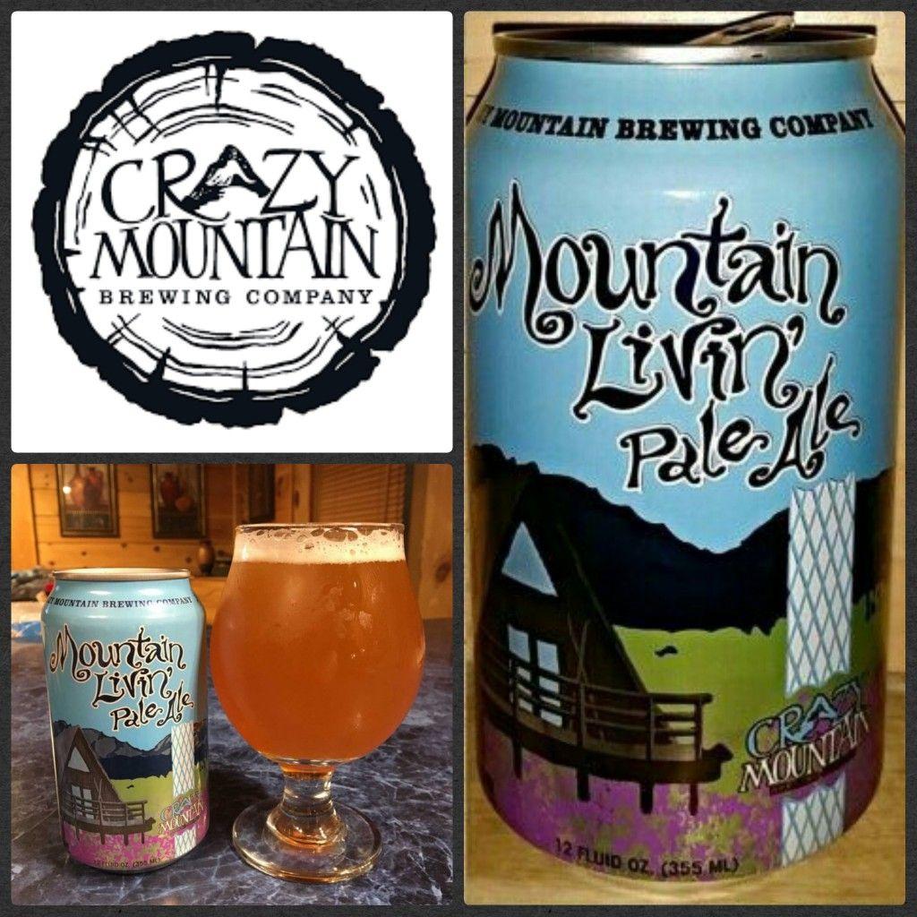 231 Mountain Livin Pale Ale Crazy Mountain Brewing Edwards