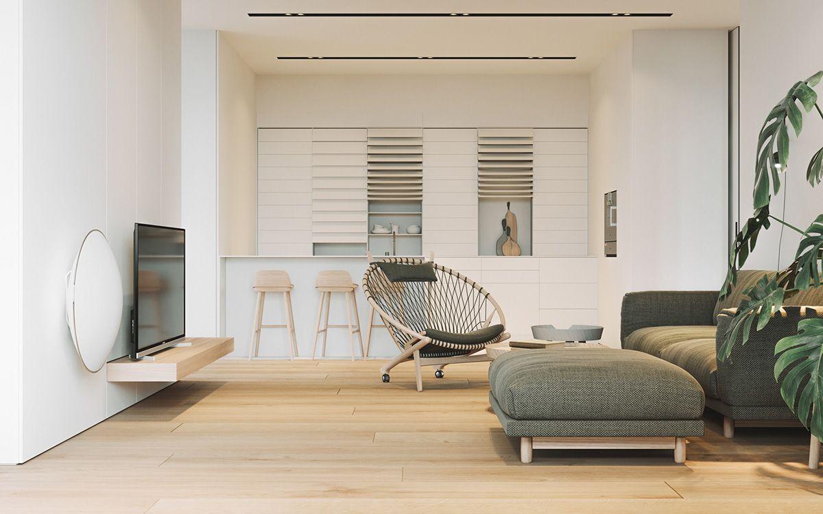 Three Contemporary Interiors Making The Most Of Light Wood Interior Design Interior Design Inspiration Contemporary Interior
