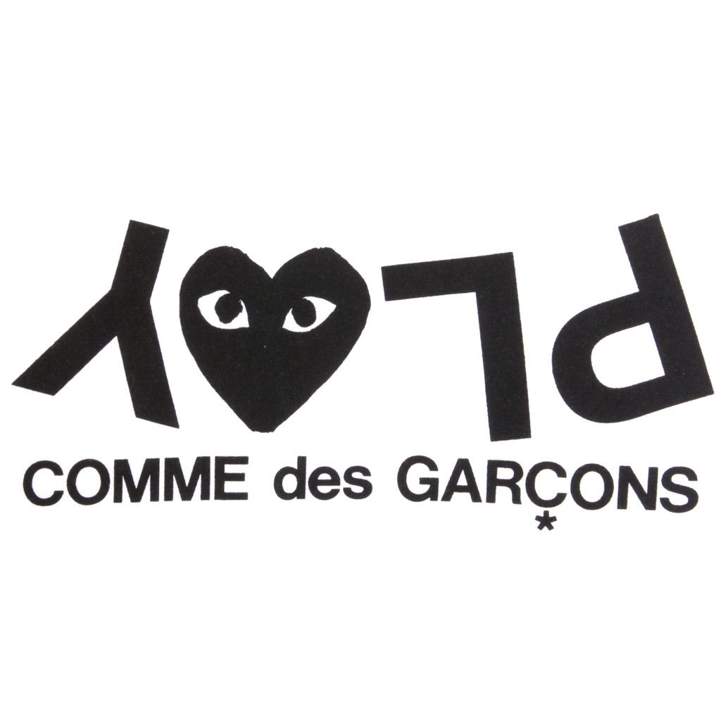574529e18dfa Play comme des garcons type typography font illustration ...