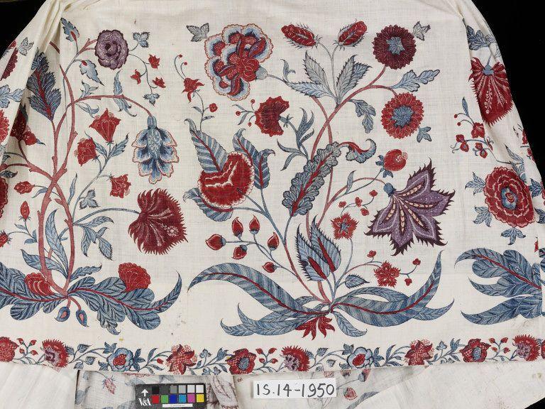 Petticoat Printing On Fabric 18th Century Costume
