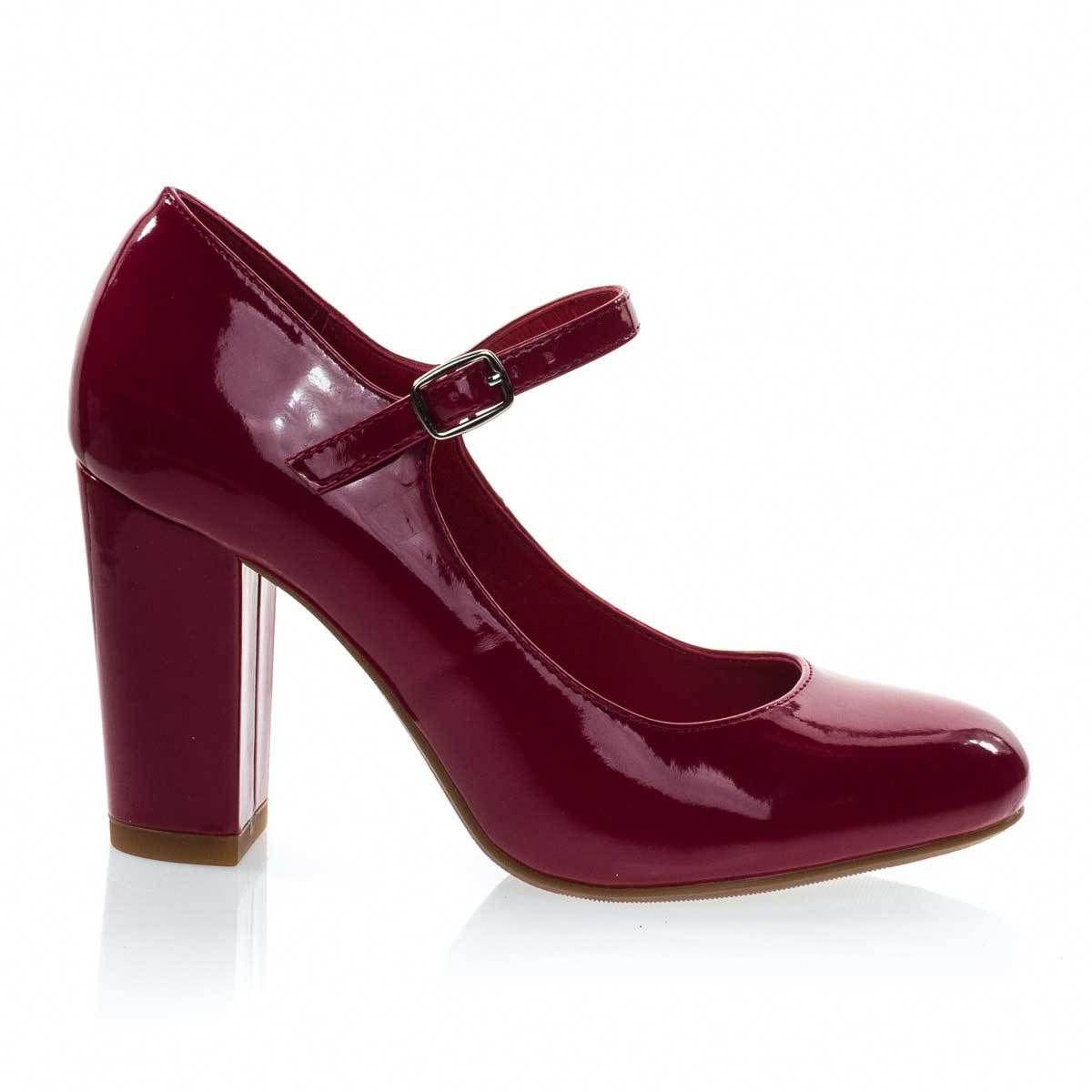 137f72b55b01 About This Shoes  Work in comfort with these padded Mary-Jane Pump  featuring chunky