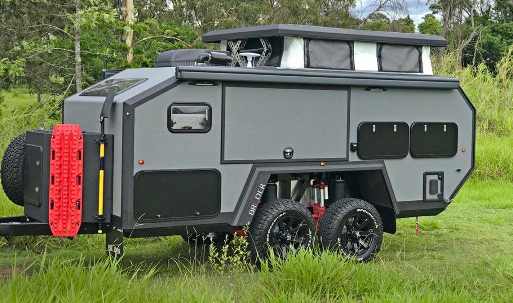 Brochure   BruderX   Small camping trailer, Truck camper ...
