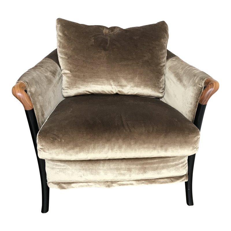 Modern Giorgetti For Progetti Armchair Armchair Accent Chairs