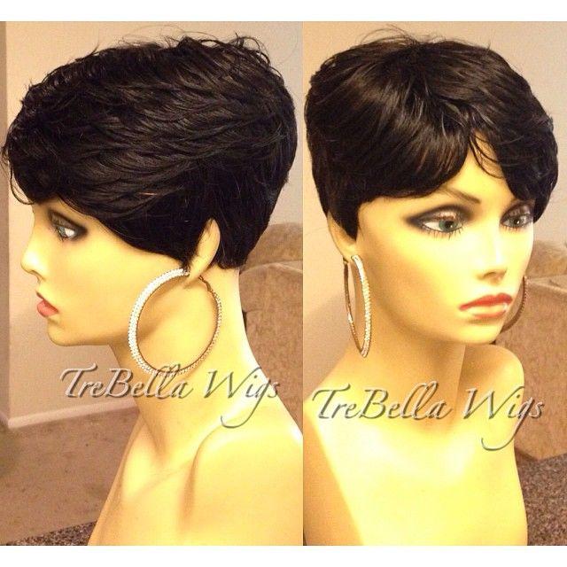 Stylish Short Hair, Wig Hairstyles