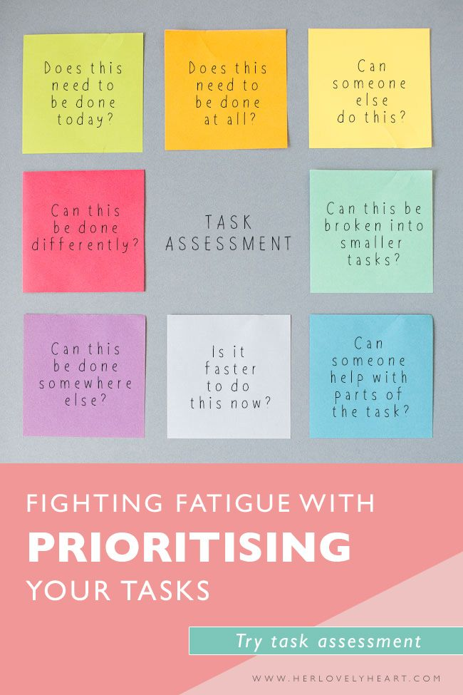 Fighting fatigue with prioritising your tasks A website, Punch and