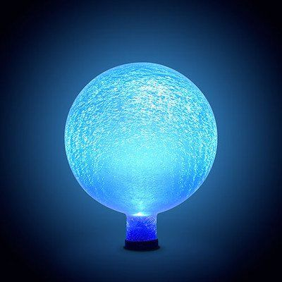 Achla Designs 25,4�cm Gazing Ball, matt, blau, Lapis