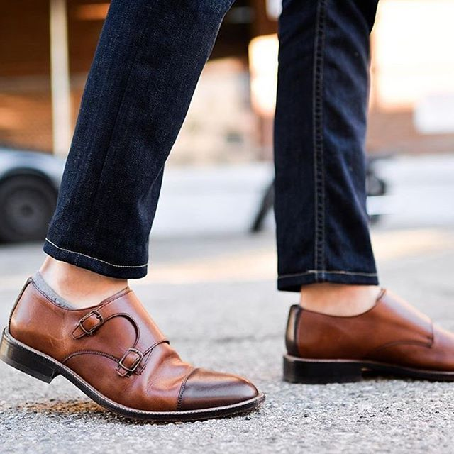 881e19ccc618 Great look by  blakescott  with our no show socks and monk strap shoes.