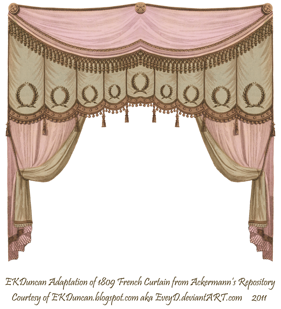 Theatre curtains png - Ekduncan My Fanciful Muse Curtains Set The Stage Regency Beauties From Ackermann S Repository