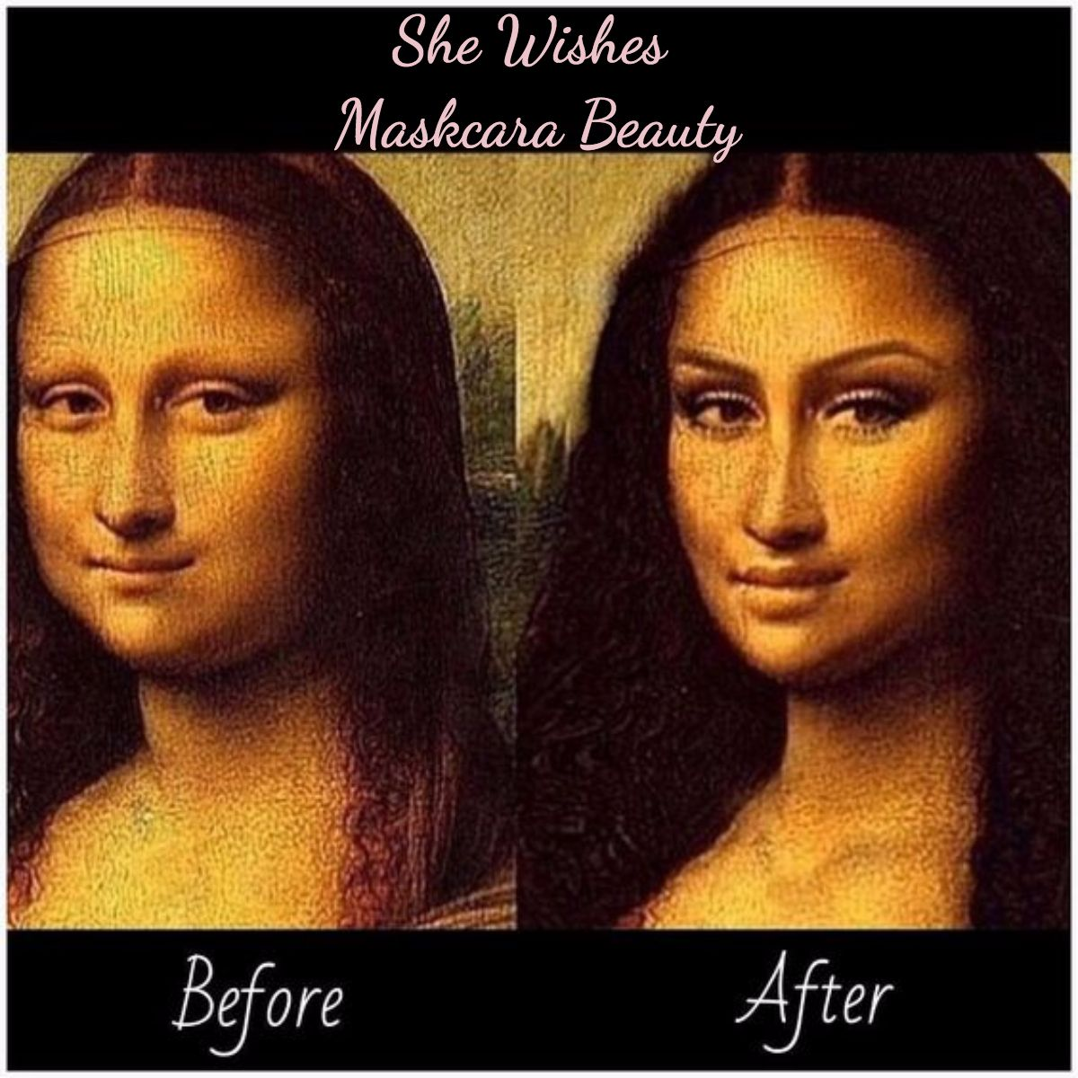 Before and After! LOL! Maskcara Beauty Picture Perfect