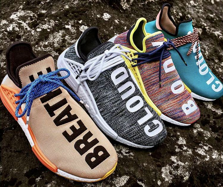 Nouvelle collection de chaussures Homme Adidas x Pharrell