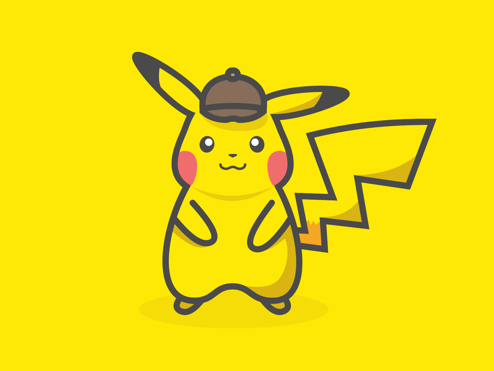 Dribbble Pikachu Png By Stanislav Osipenko Pikachu Detective Character
