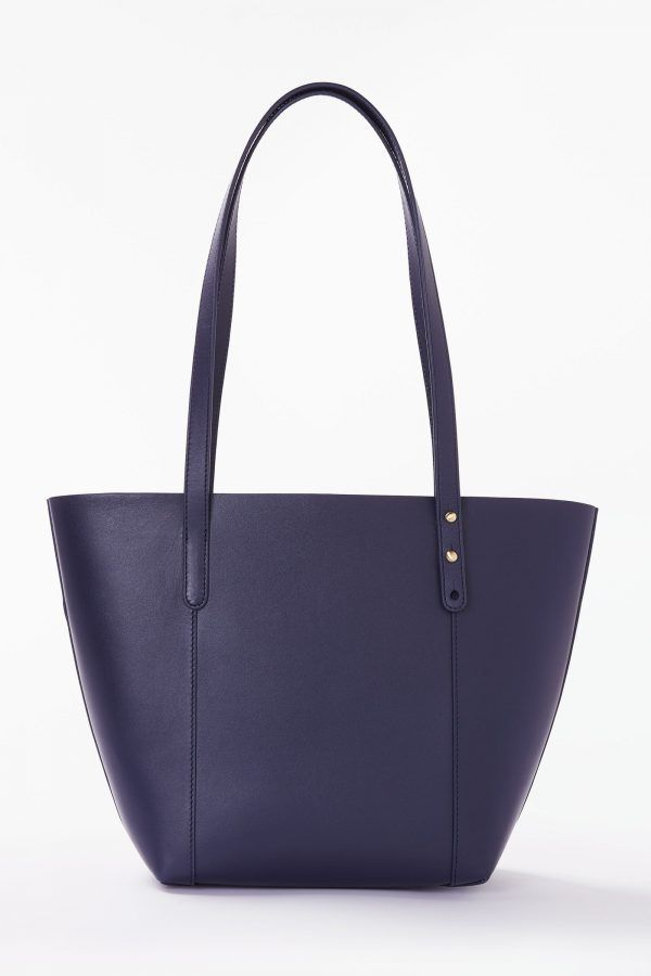 b3e4f823464a John Lewis   Partners Robyn Small Leather Two Colour Tote Bag