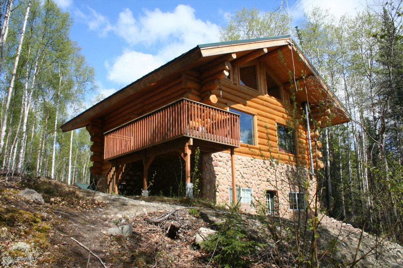 Log homes for sale in wasilla and palmer ak alaska real for Alaska log home builders