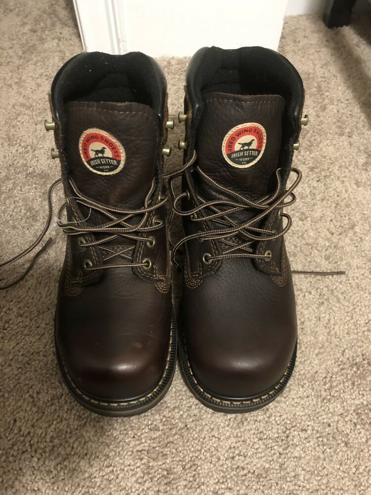 2439985c Red Wing Shoes Men's Work Boots Steel Toe Size 8 #fashion #clothing #shoes # accessories #mensshoes #boots (ebay link)